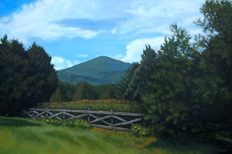 Landscape Painting - Strawderman by Suzanne Shelden