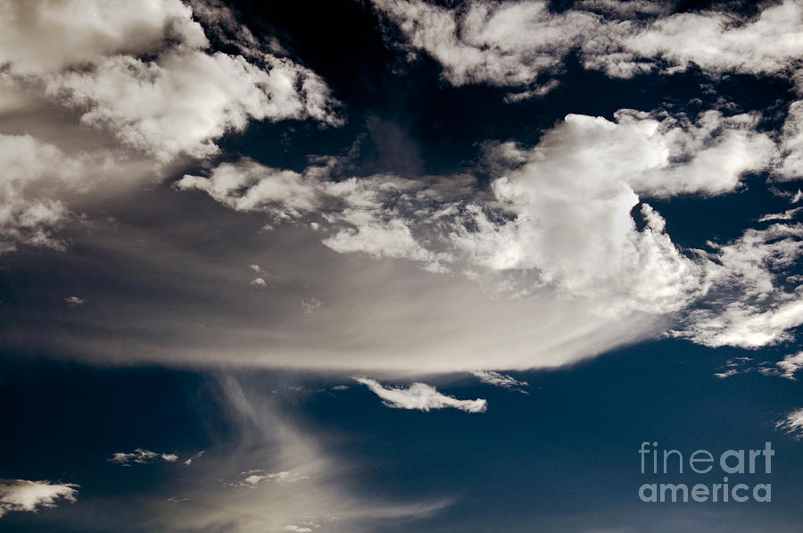Clay Photograph - Streakin Cloud by Clayton Bruster