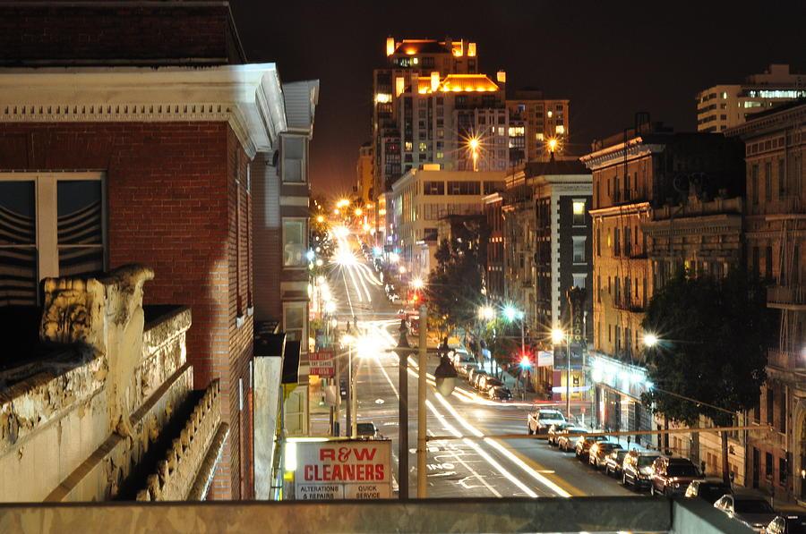 San Francisco Photograph - Streaks Of San Francisco by Greg McDonald
