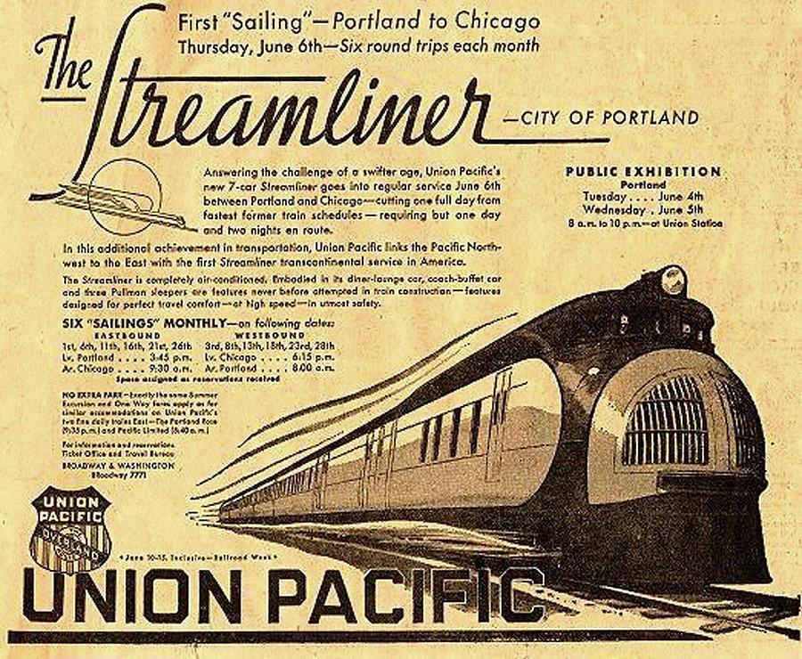 Streamliner Photograph