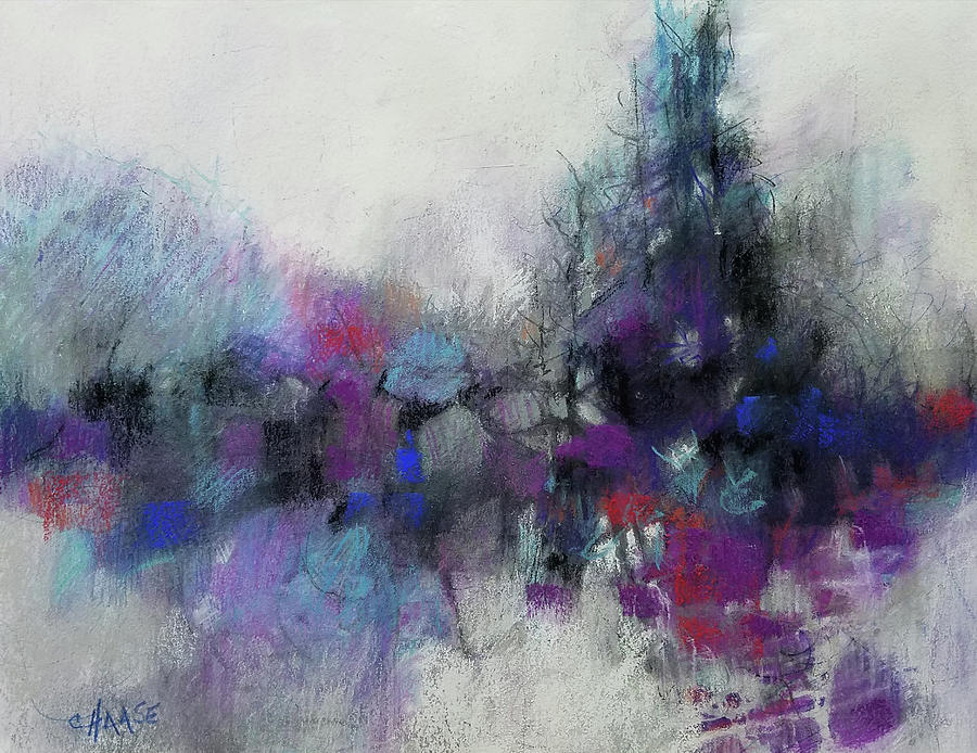Abstract Pastel - Streams Of Consciousness by Cynthia Haase