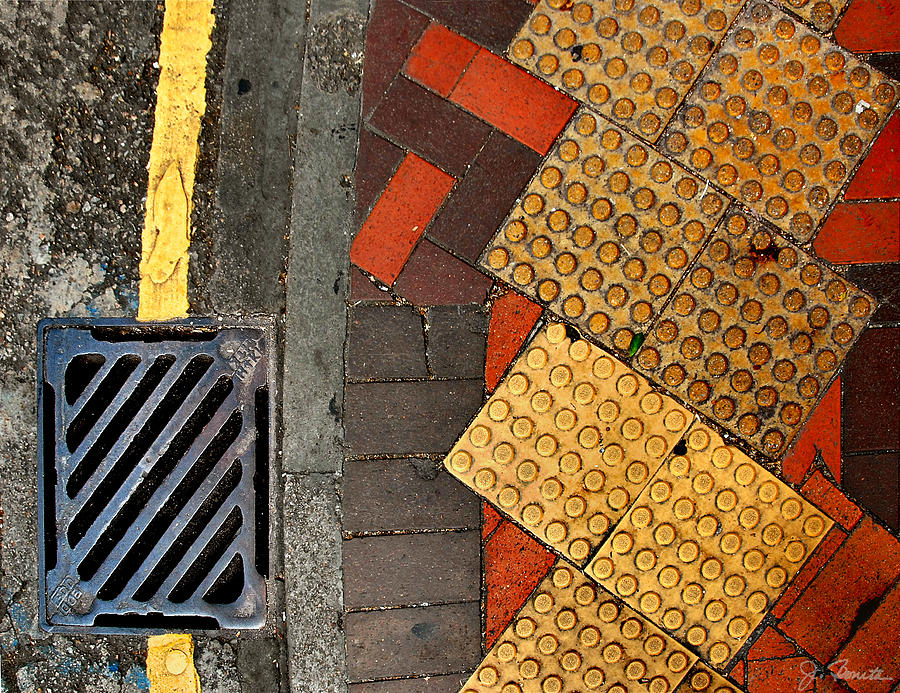 Street Photograph - Street Abstract by Joe Bonita