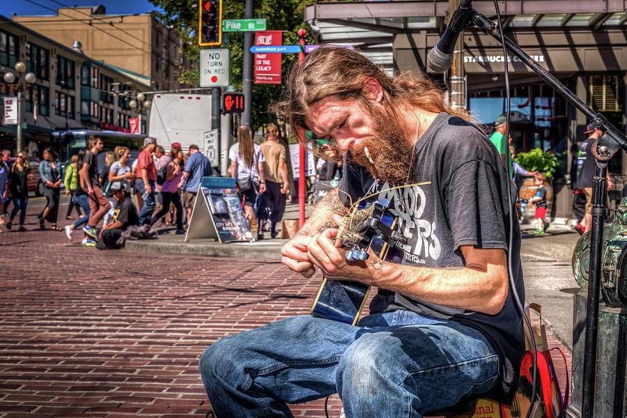 Street Blues Photograph