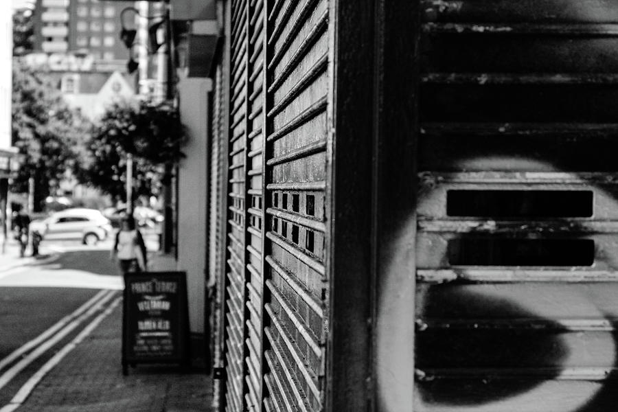 Black And White Photograph - Street Corner by Jasper Connors