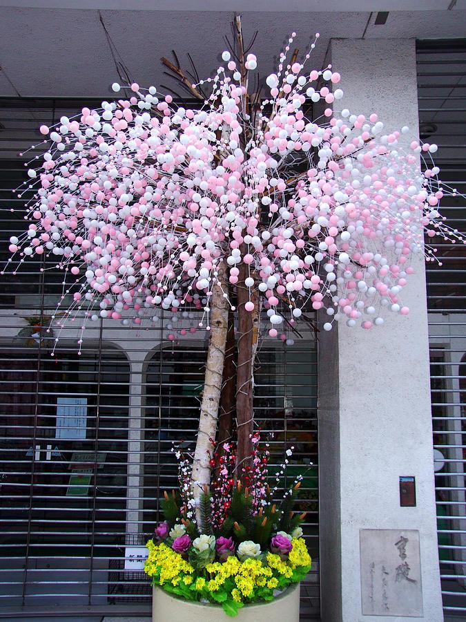 Artificial Tree Photograph - Street Decor by Baato