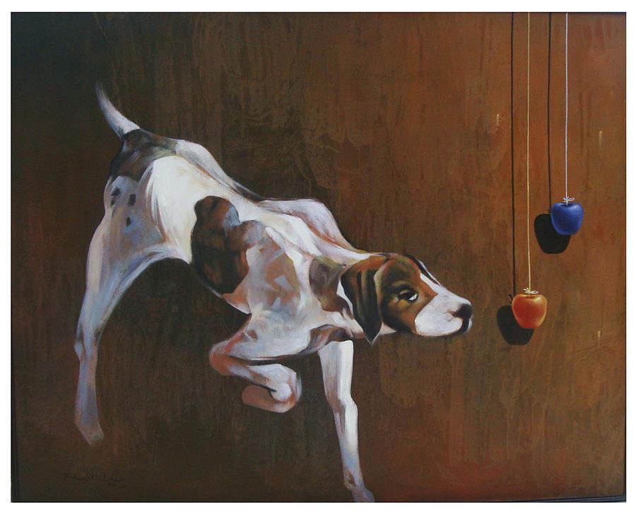 Street Dog Painting - Street Dog by Bishwajit Das