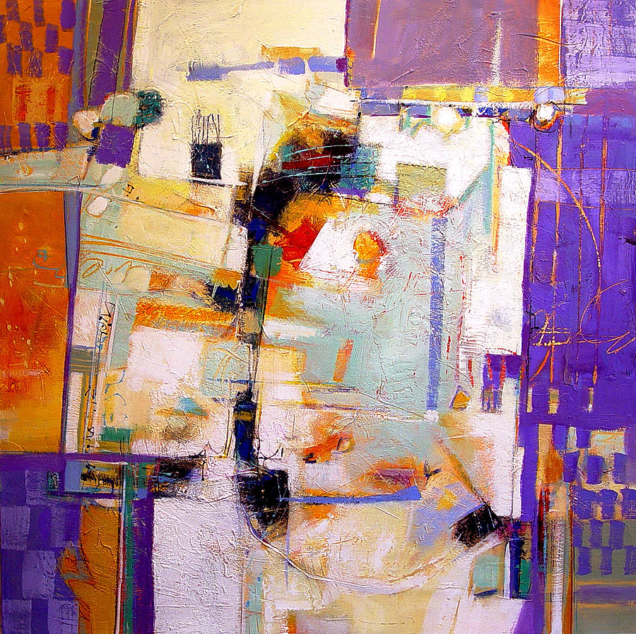Abstract Painting - Street Fair by Dale  Witherow