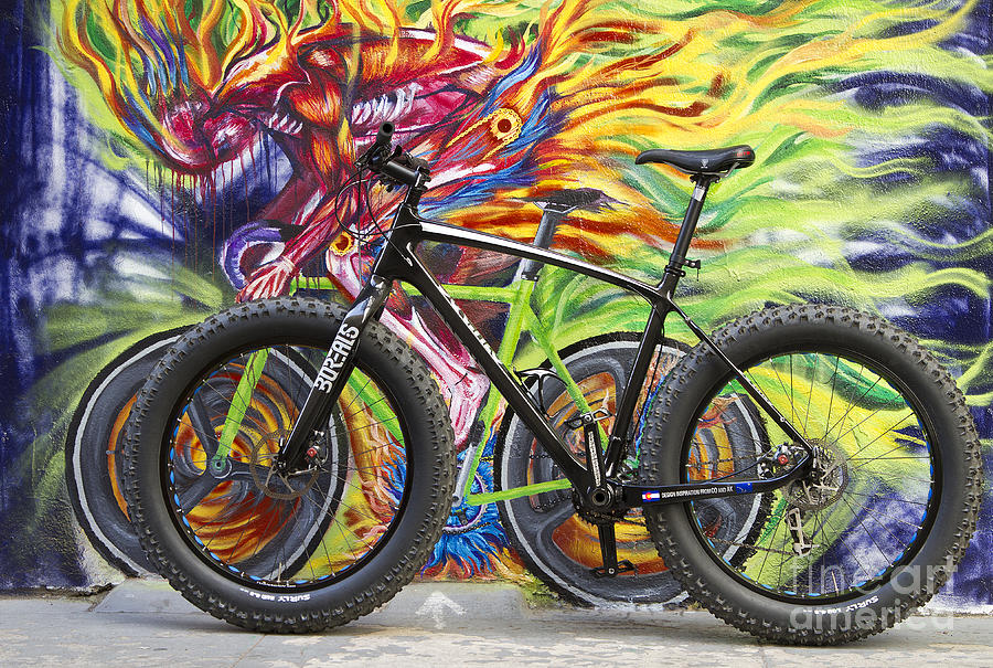 Street Graffiti Rider Photograph