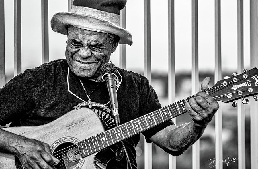 Street Guitarist by David A Lane