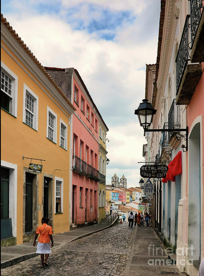Street in San Salvador by Vivian Christopher