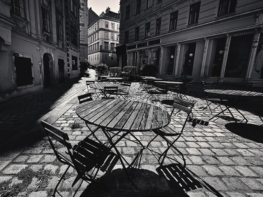 Street In Vienna Photograph