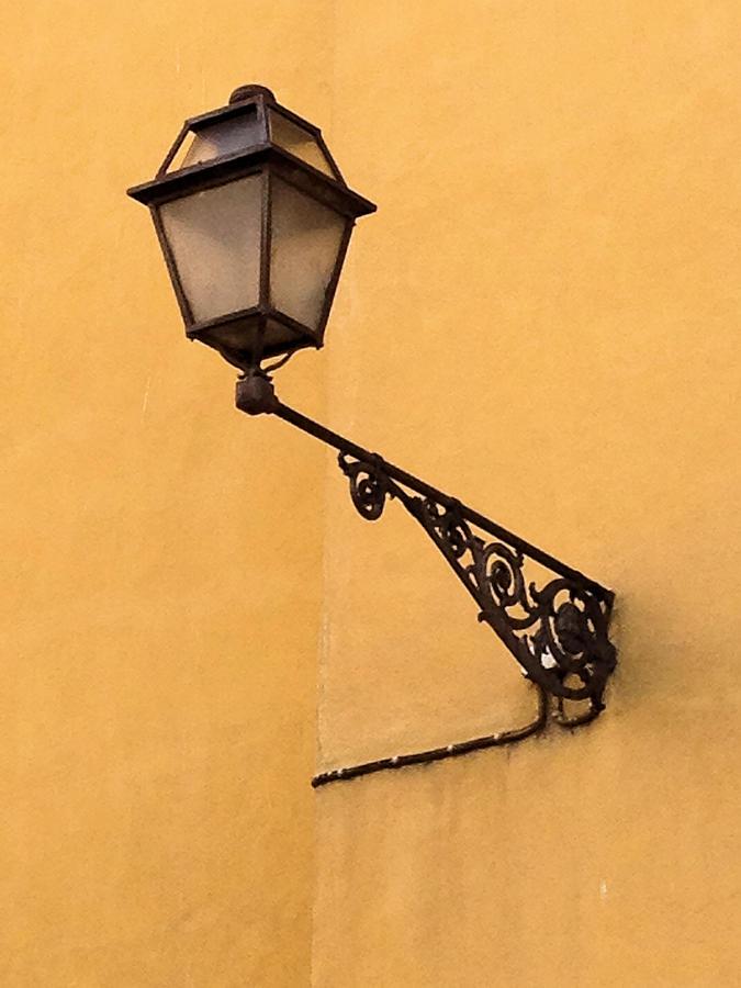 Lamp Photograph - Street Lamp by Josephine Buschman