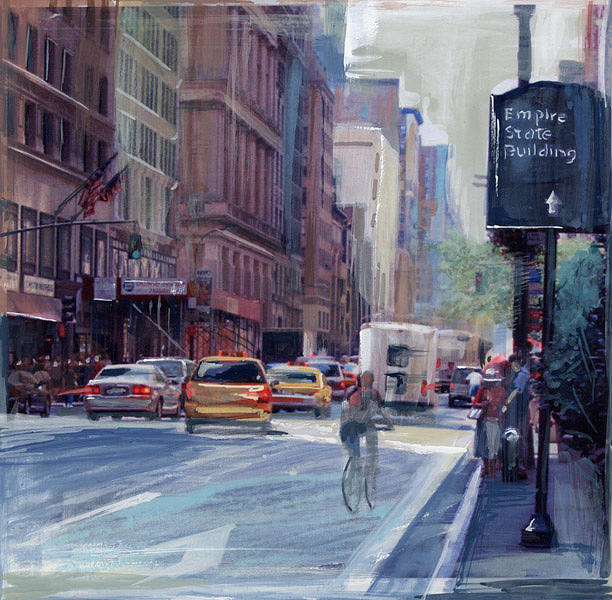 Street Life Painting by Lorin Fleming
