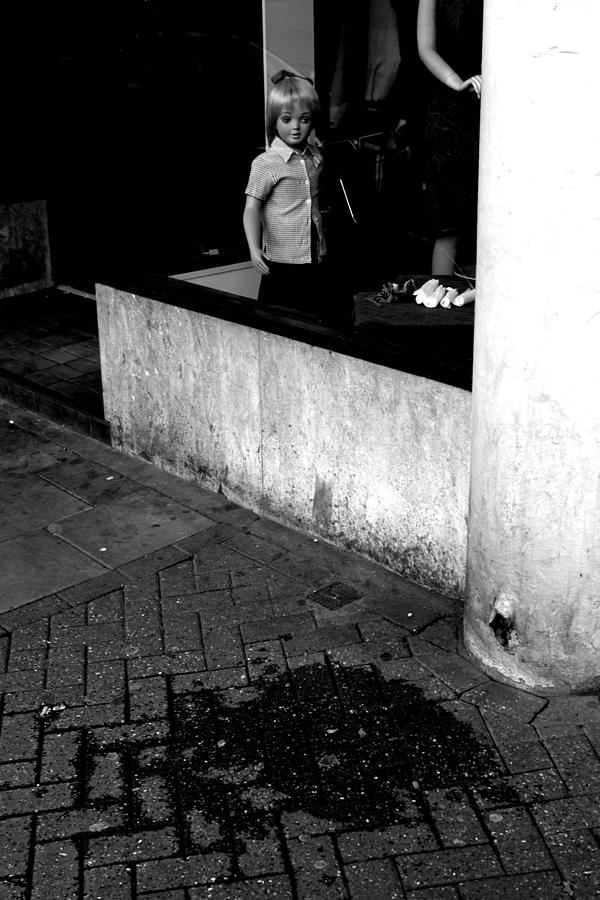 Photographer Photograph - Street Lonely by Jez C Self