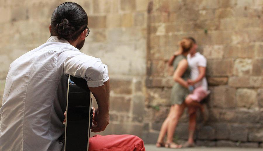 Street Photograph - Street Love by Marc Serarols