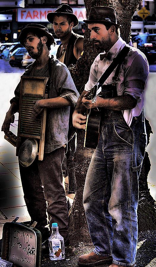 Street Musicians Photograph - Street Musicians by David Patterson