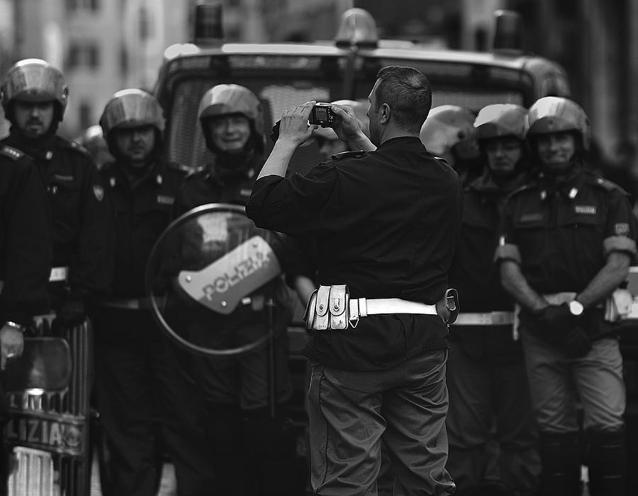 Street Photograph - Street  Photographer by Fulvio Pellegrini