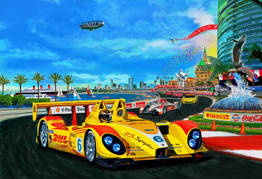 Street Racing Painting