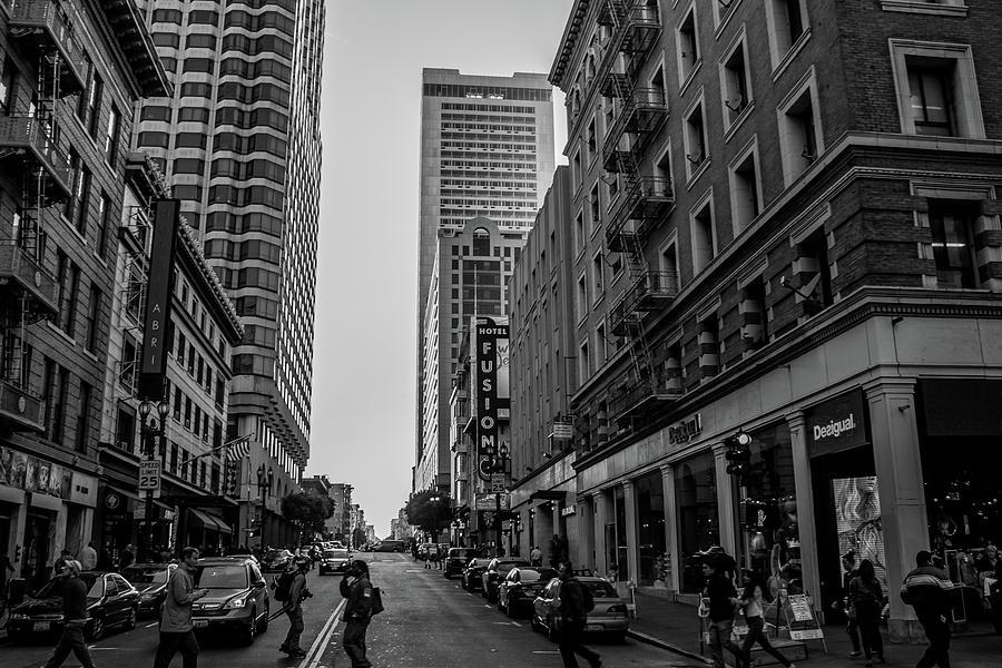 Street Scene, NYC by Lora Lee Chapman