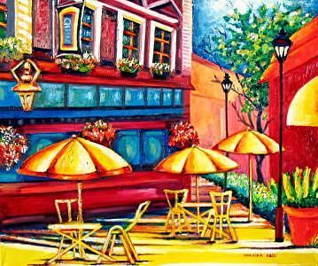 Street  Painting by Shaiza Abid