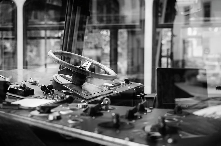 Streetcar in Zurich. by Pablo Lopez