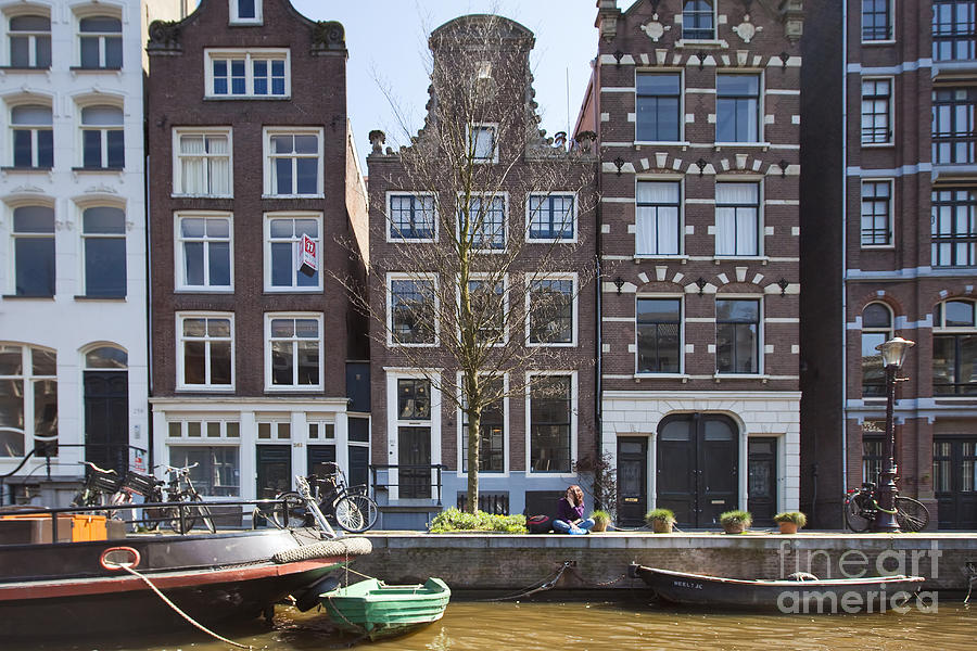 Age Photograph - Streets And Channels Of Amsterdam by Andre Goncalves