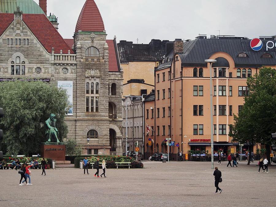 Streets of Helsinki by Terry Fleckney