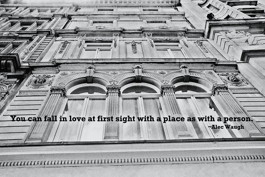 London Photograph - Streets Of London Quote by JAMART Photography