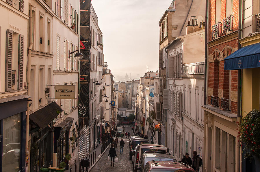 Streets Of Montmartre Photograph
