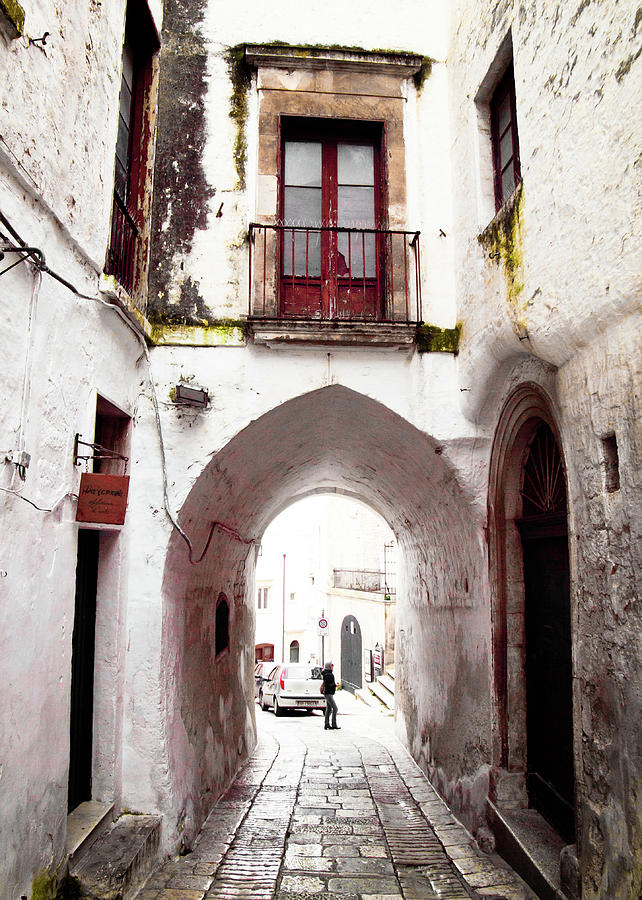 Streets of Ostuni by Steven Myers