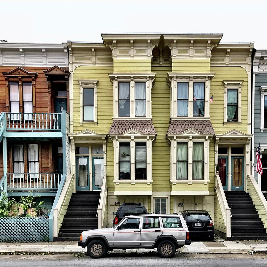 Streets Of San Francisco Photograph by Julie Gebhardt