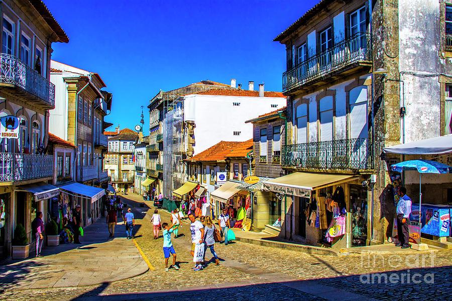 Valenca Photograph - Streets Of Valenca by Roberta Bragan