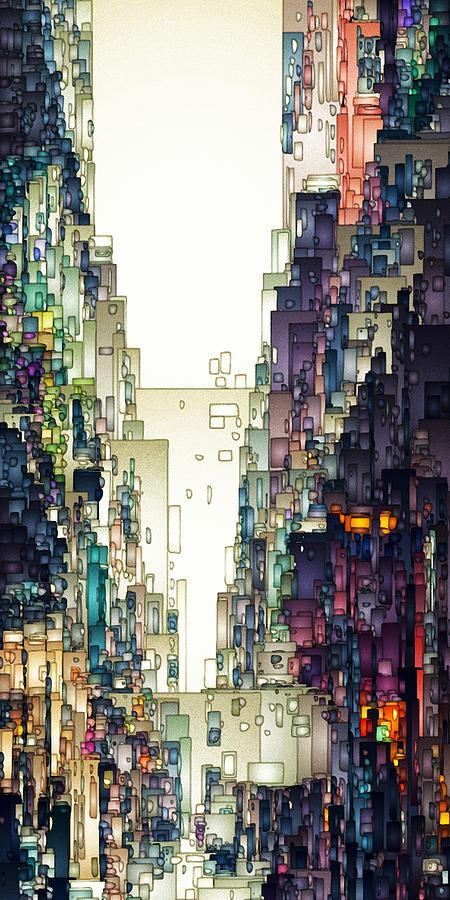 Streetscape 1 by David Hansen