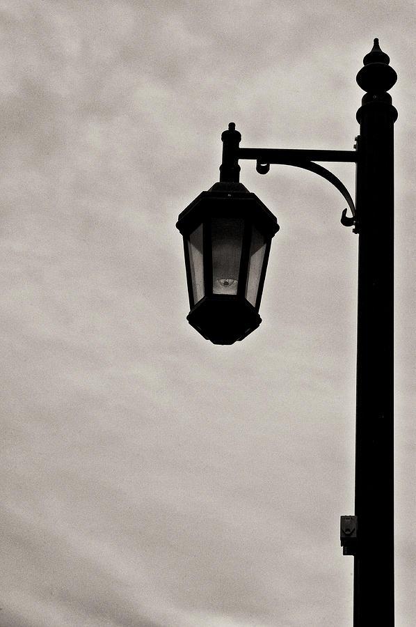 Street Light Photograph - Streetwalkers Umbrella by Sarita Rampersad