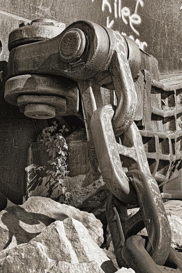 Chain Photograph - Strength I by Tom Mc Nemar