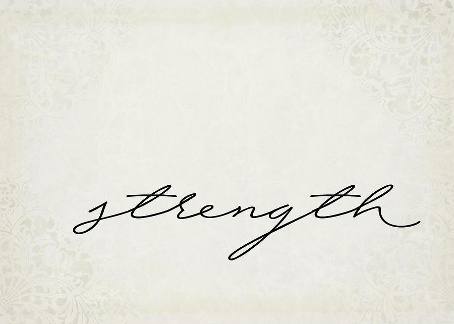 Strength One Word Series