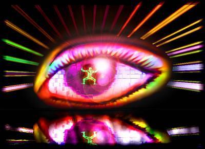 Eye Digital Art - Strength Succumbs To Beauty by Paul Kaleja