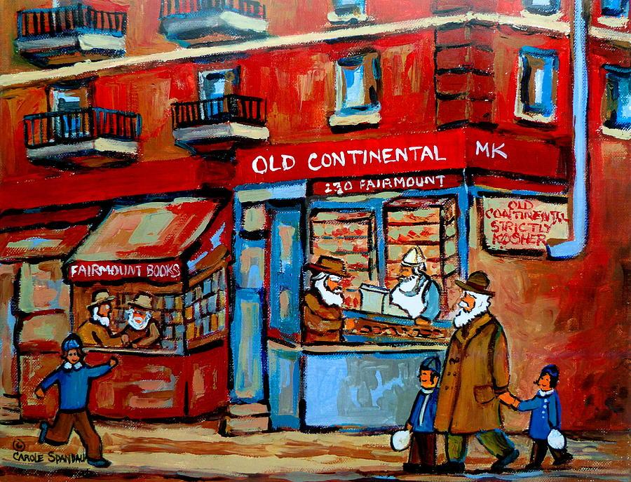 Judaica Painting - Strictly Kosher by Carole Spandau