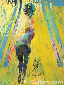 Leroy Painting - Strike Bound by Leroy Neiman