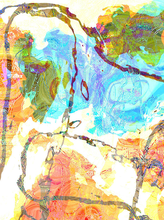 String Theory Digital Art by Felicity Sweet
