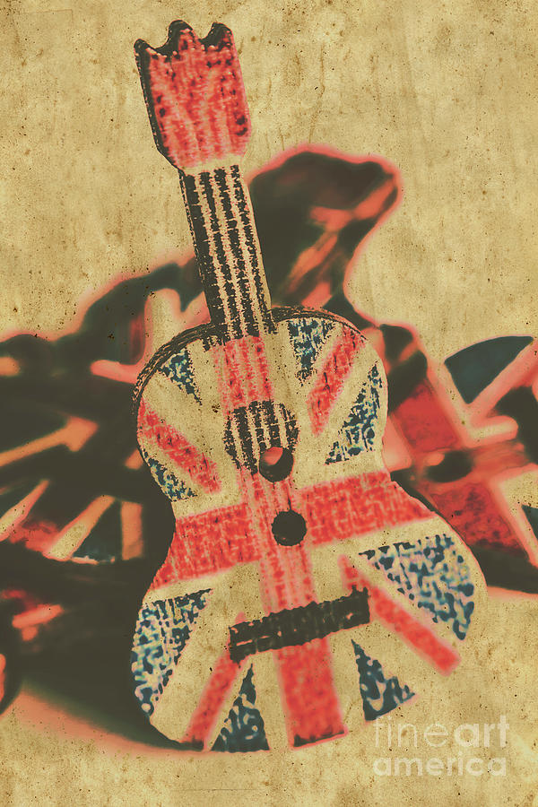Stringed In Great Britain Photograph