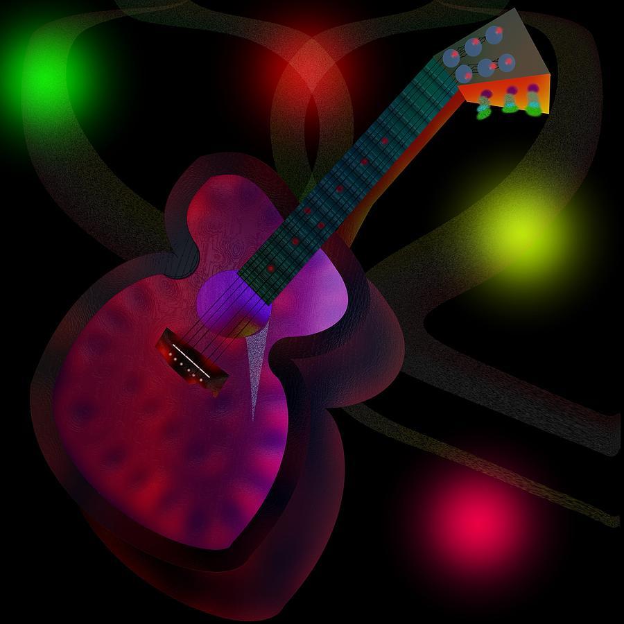 Stringed Instrument Digital Art