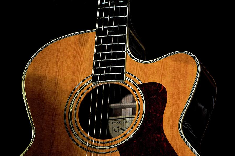 Guitar Photograph - Strings Of My Heart... by Oleksiy Maloshtan