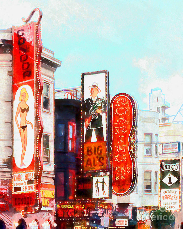Broadway strip club