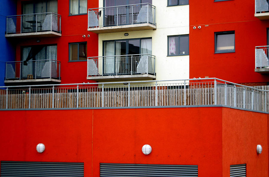 Photographer Photograph - Striped Living by Jez C Self