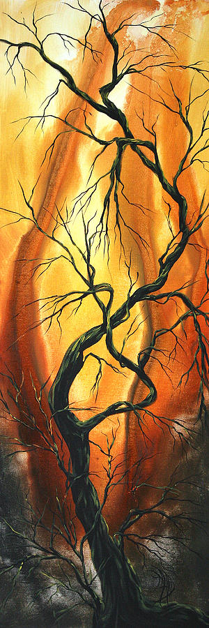 Abstract Painting - Striving To Be The Best By Madart by Megan Duncanson
