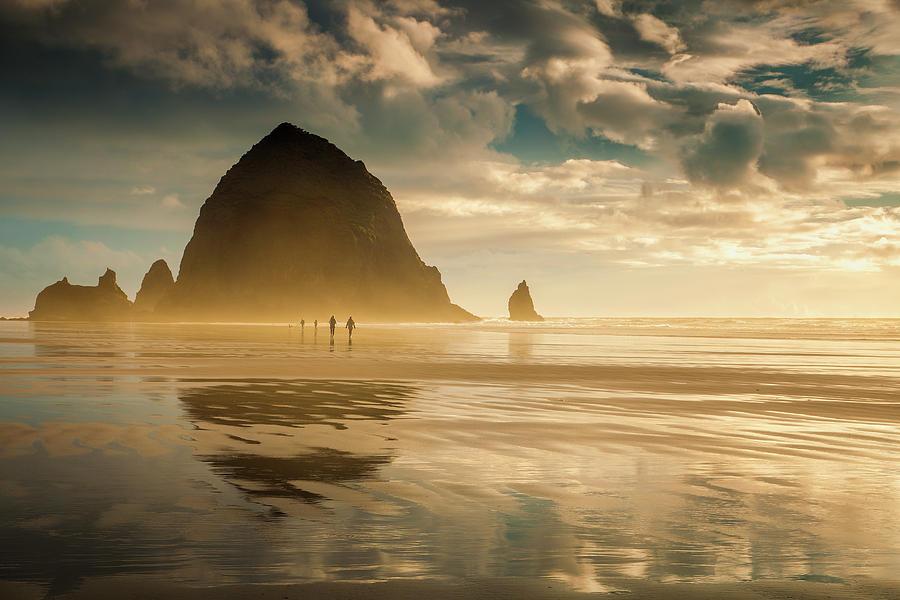 Stroll On The Coast Photograph