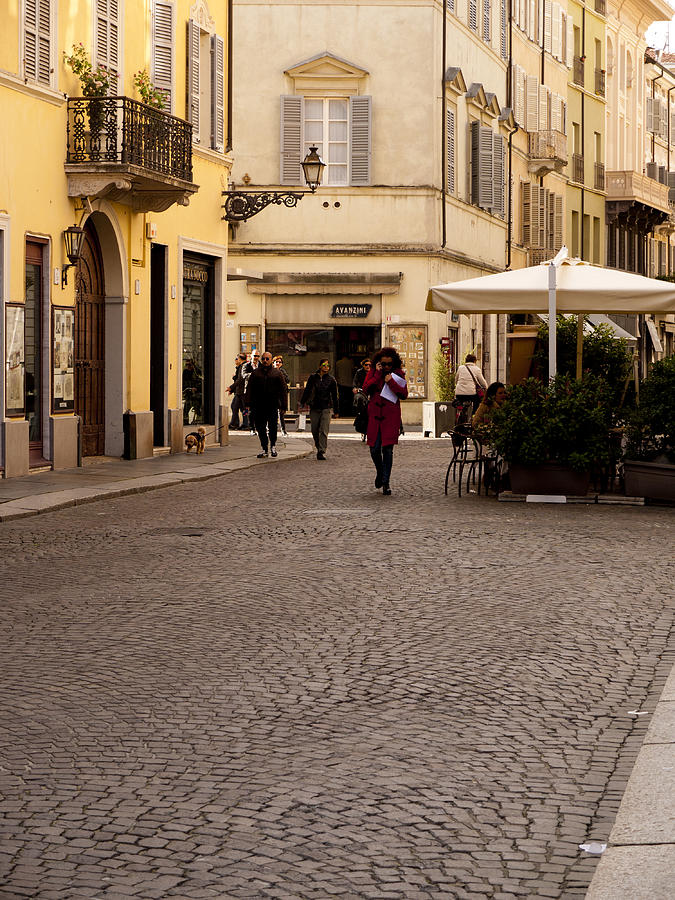 Parma Photograph - Strolling About Parma by Rae Tucker