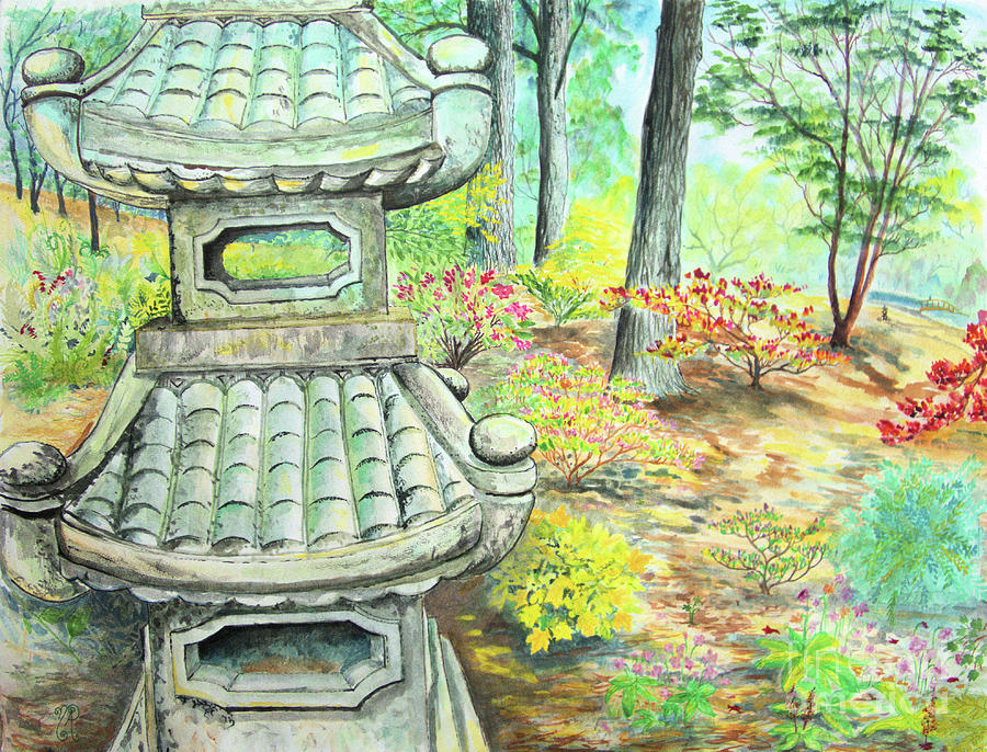 Strolling through the Japanese Garden by Nicole Angell
