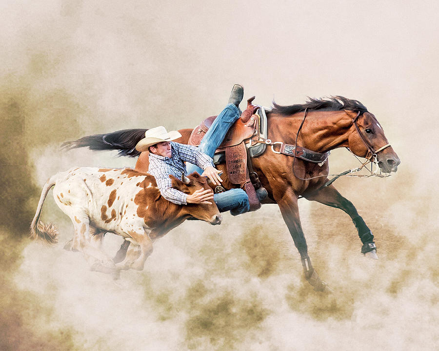 Strong Hearts and Fast Horses by Ron McGinnis